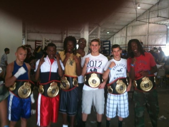 Nationa Title Belts