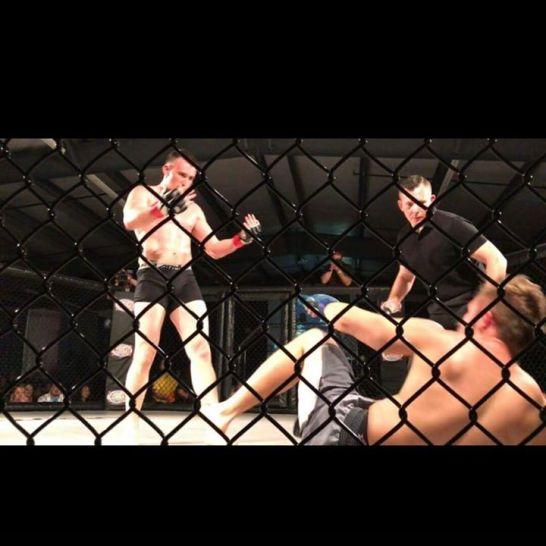 MMA Knockout Cory Ralston TCB